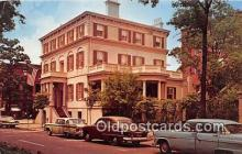 sct100130 - Birthplace & Childhood Home of Juliette Gordon Low, Founder of Girl Scouting Savannah, GA, USA Postcards Post Cards Old Vintage Antique