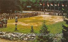 sct100141 - Horseshoe Scout Reservation Chester County Council, BSA Postcards Post Cards Old Vintage Antique