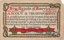 sct100167 - Boy Scouts of America  Postcards Post Cards Old Vintage Antique