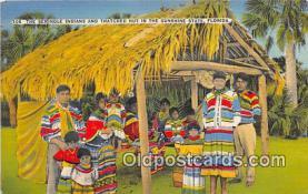sem000001 - Seminole Indians Postcard