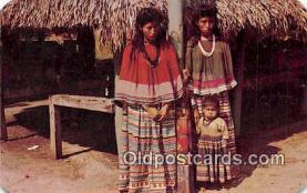 sem000002 - Seminole Indians Postcard