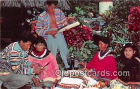 sem000005 - Seminole Indians Postcard