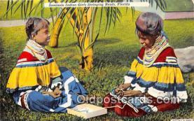 sem000007 - Seminole Indians Postcard