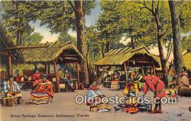 sem000008 - Seminole Indians Postcard