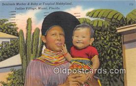 sem000010 - Seminole Indians Postcard