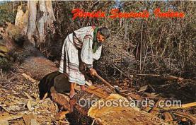 sem000011 - Seminole Indians Postcard
