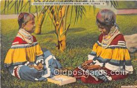 sem000013 - Seminole Indians Postcard