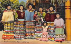 sem000015 - Seminole Indians Postcard