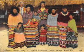 sem000017 - Seminole Indians Postcard