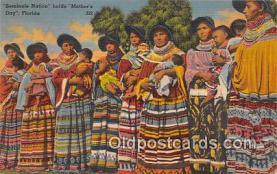 sem000018 - Seminole Indians Postcard