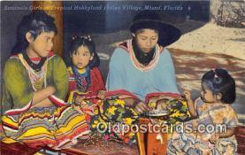 sem000019 - Seminole Indians Postcard