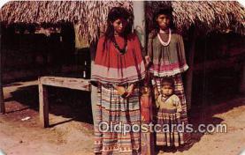 sem000020 - Seminole Indians Postcard