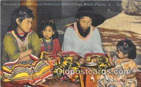 sem000024 - Seminole Indians Postcard