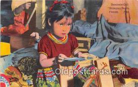 sem000025 - Seminole Indians Postcard