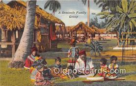 sem000029 - Seminole Indians Postcard