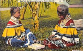sem000034 - Seminole Indians Postcard