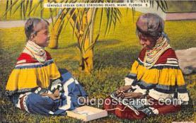 sem000035 - Seminole Indians Postcard