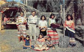 sem000037 - Seminole Indians Postcard