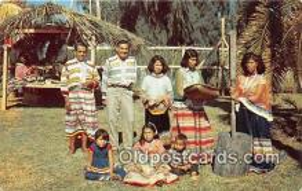 sem000038 - Seminole Indians Postcard