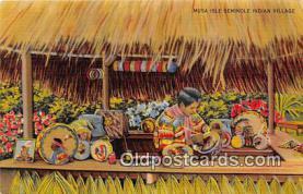 sem000039 - Seminole Indians Postcard
