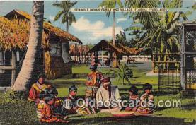 sem000042 - Seminole Indians Postcard