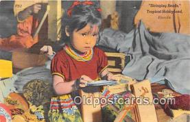 sem000044 - Seminole Indians Postcard