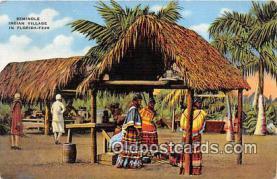 sem000046 - Seminole Indians Postcard