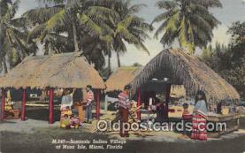 sem000048 - Seminole Indians Postcard