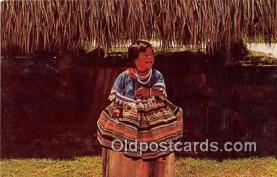 sem000050 - Seminole Indians Postcard