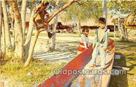 Seminole Dugout Canoe