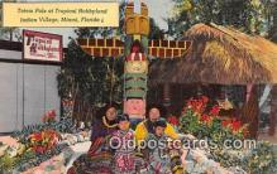 sem000053 - Seminole Indians Postcard