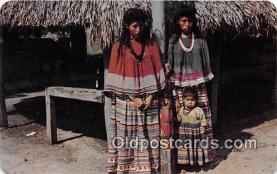 sem000055 - Seminole Indians Postcard