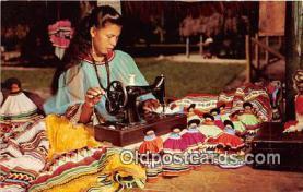 sem000057 - Seminole Indians Postcard