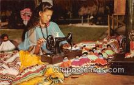 sem000058 - Seminole Indians Postcard