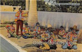 sem000060 - Seminole Indians Postcard
