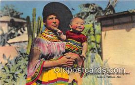 sem000061 - Seminole Indians Postcard