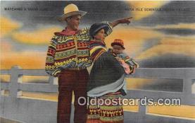 sem000062 - Seminole Indians Postcard