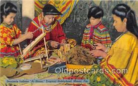 sem000064 - Seminole Indians Postcard