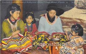 sem000069 - Seminole Indians Postcard