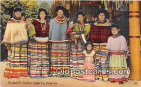 sem000071 - Seminole Indians Postcard