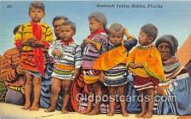sem000073 - Seminole Indians Postcard