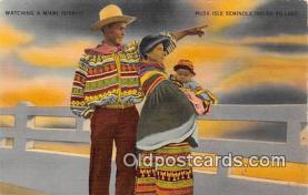 sem000076 - Seminole Indians Postcard
