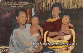 sem000080 - Seminole Indians Postcard