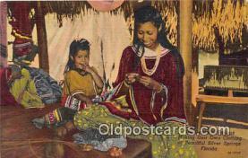sem000081 - Seminole Indians Postcard