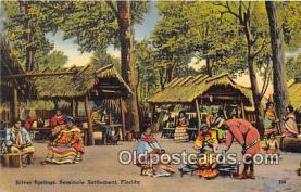 sem000082 - Seminole Indians Postcard