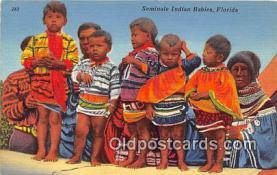 sem000084 - Seminole Indians Postcard