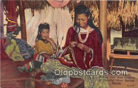 sem000085 - Seminole Indians Postcard