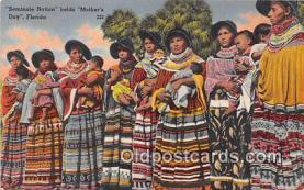 sem000086 - Seminole Indians Postcard