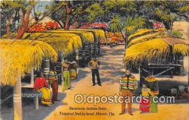 sem000087 - Seminole Indians Postcard