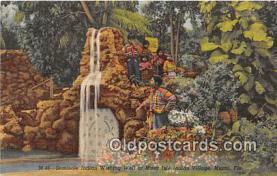 sem000088 - Seminole Indians Postcard